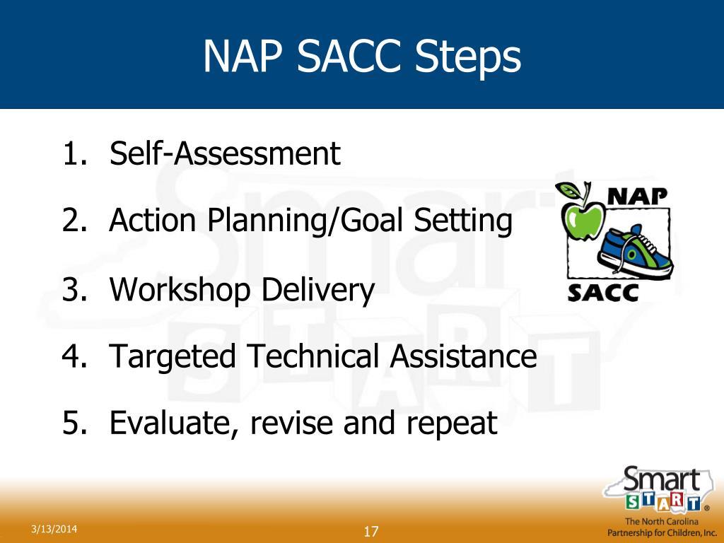 NAP SACC Steps