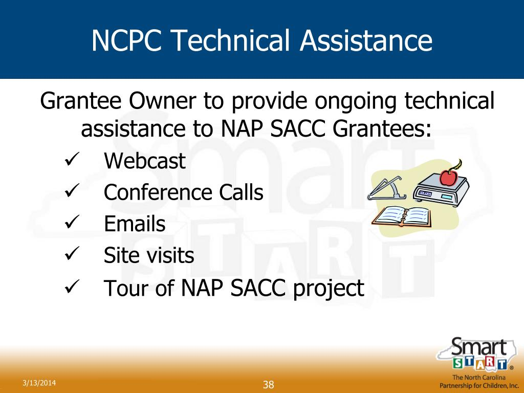 NCPC Technical Assistance