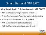 smart start and nap sacc