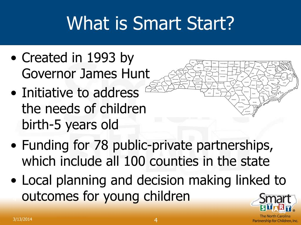 What is Smart Start?