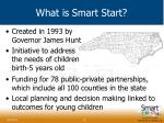 what is smart start