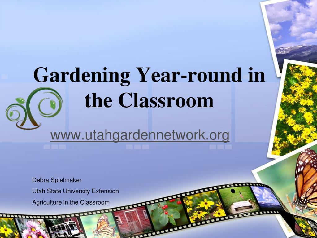 gardening year round in the classroom