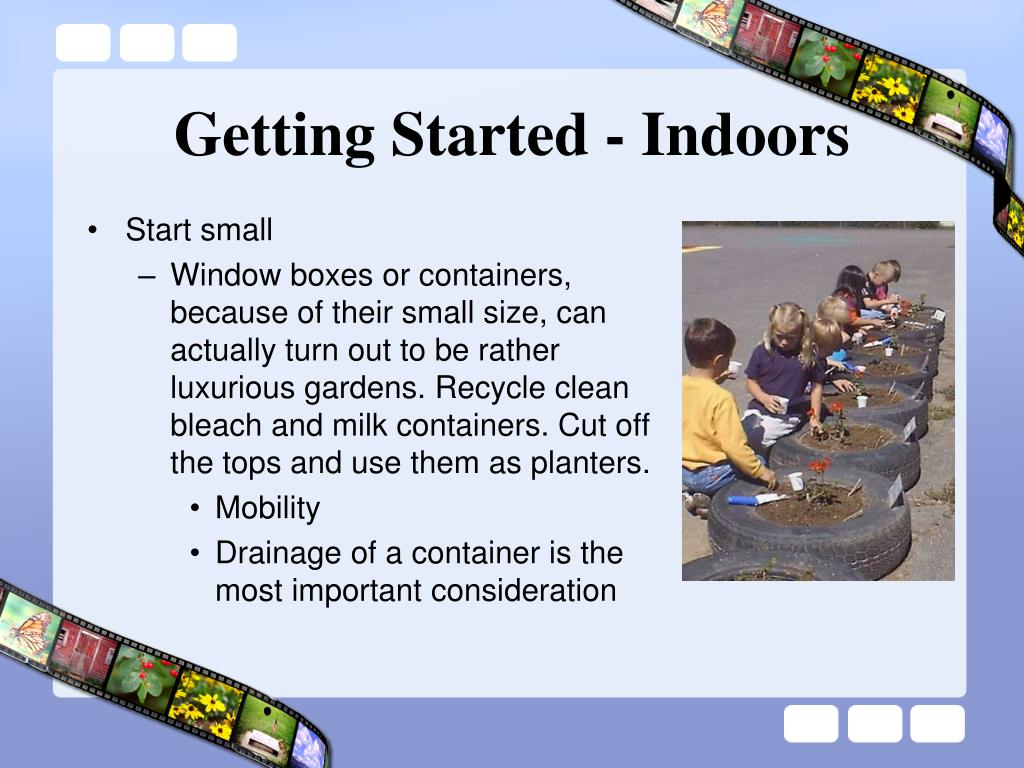 Getting Started - Indoors