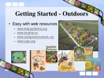 getting started outdoors25