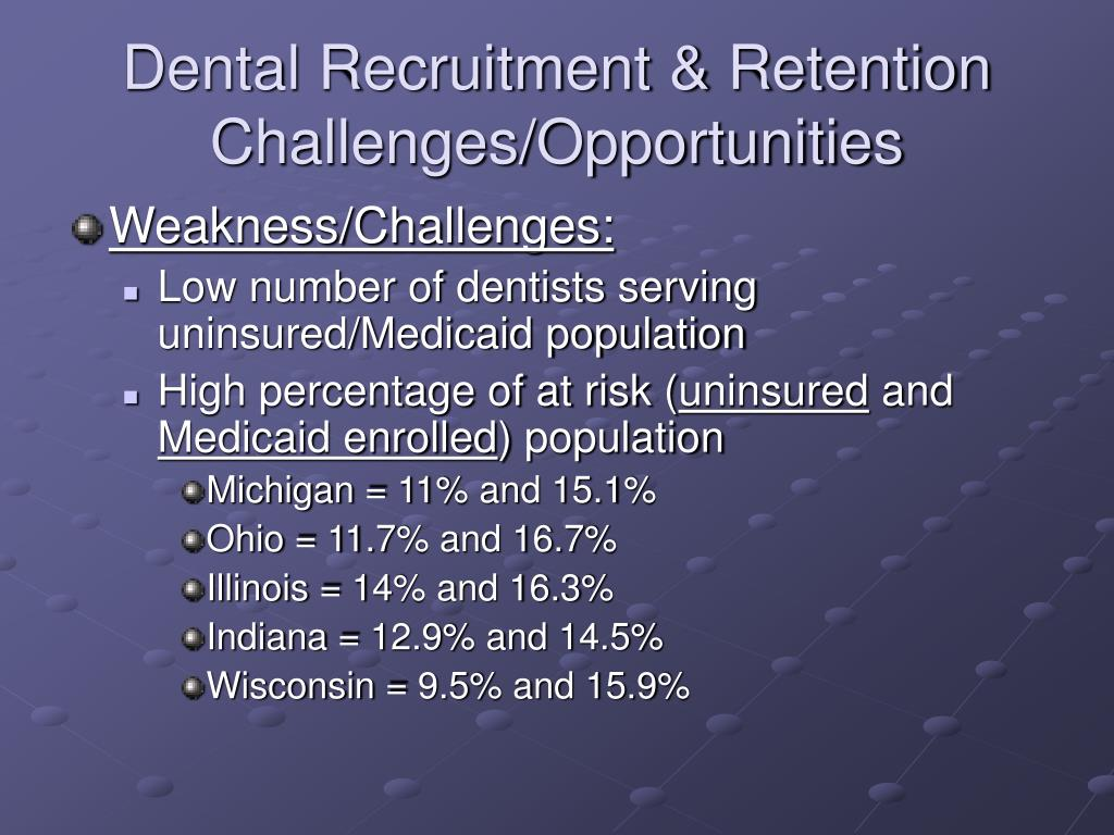 Dental Recruitment & Retention Challenges/Opportunities