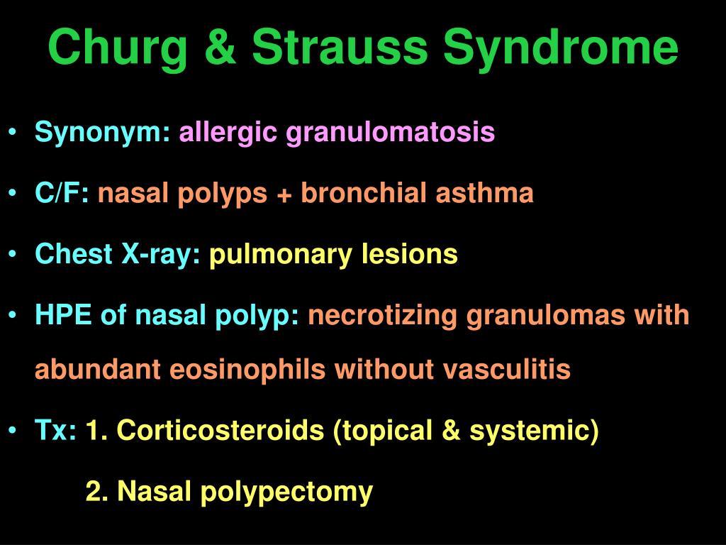 Churg & Strauss Syndrome