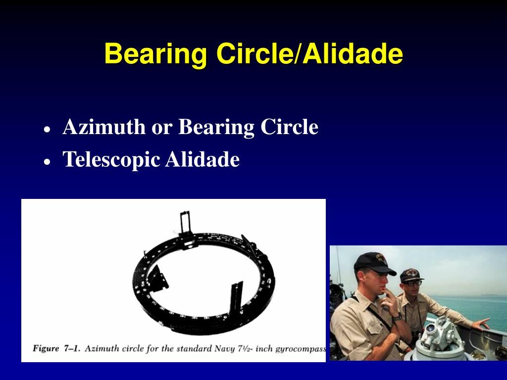 Bearing Circle/Alidade