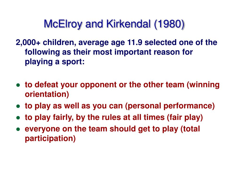 McElroy and Kirkendal (1980)