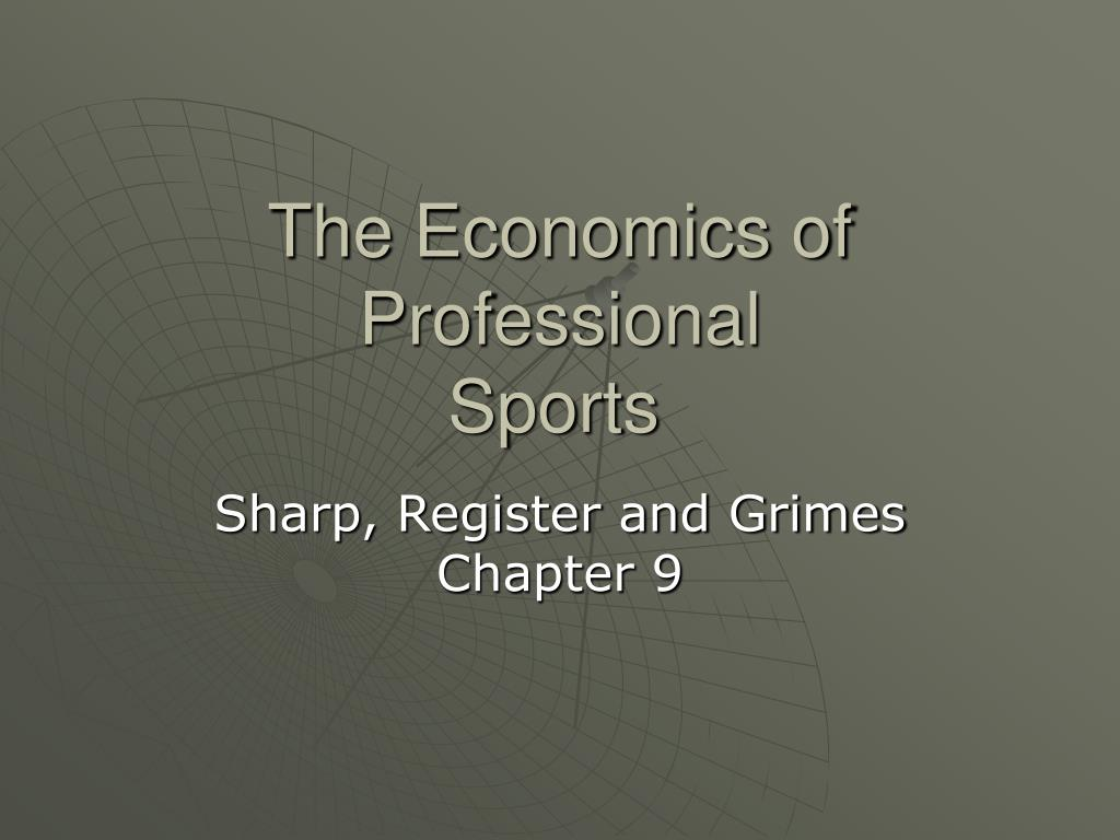 The Economics of Professional
