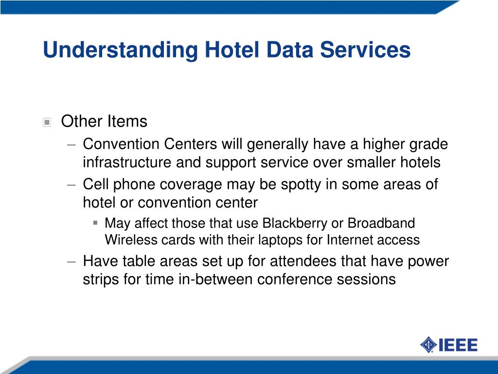Understanding Hotel Data Services