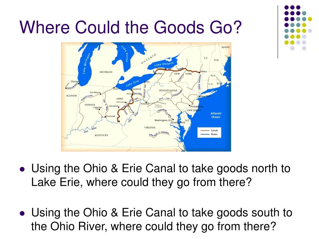 Where Could the Goods Go?