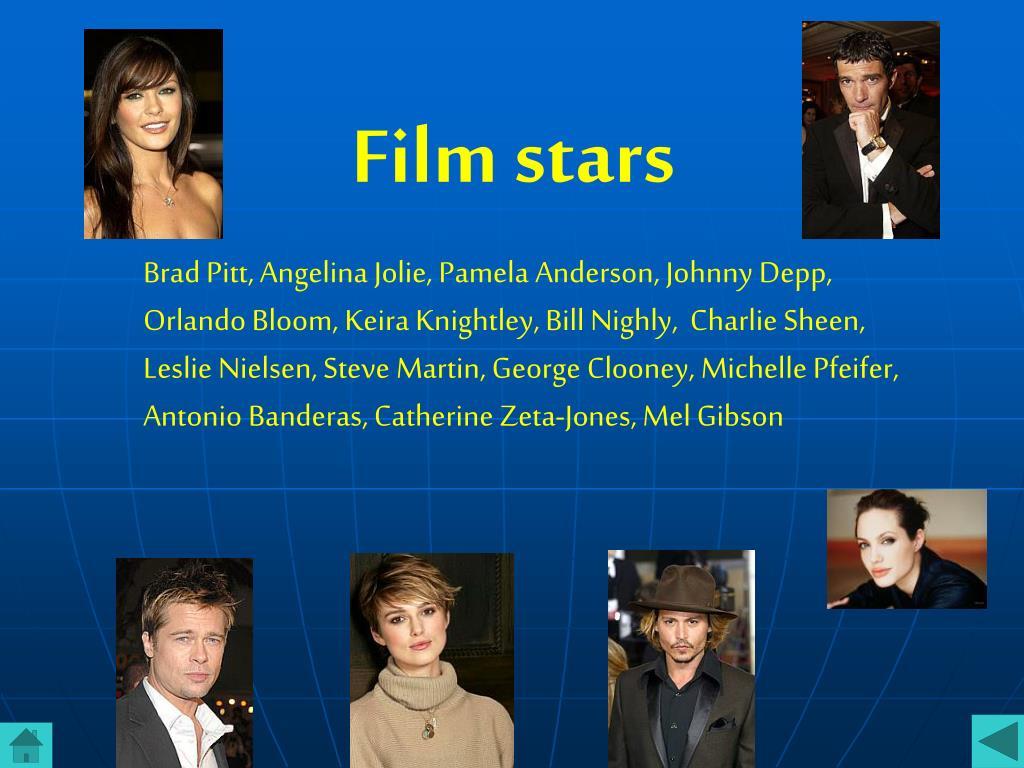 Film stars