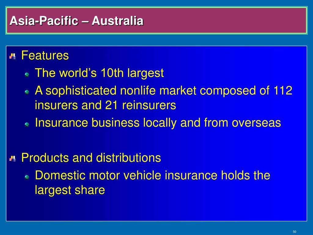 Asia-Pacific – Australia
