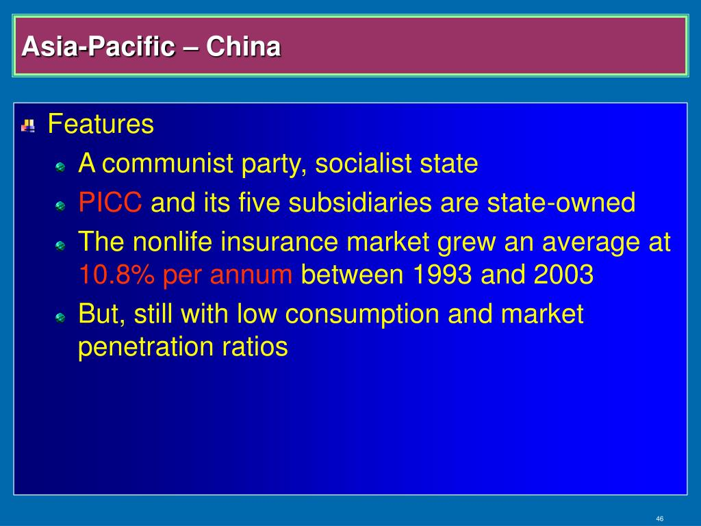 Asia-Pacific – China