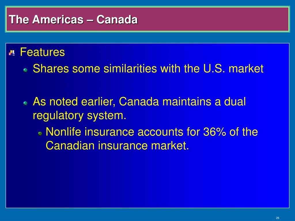 The Americas – Canada