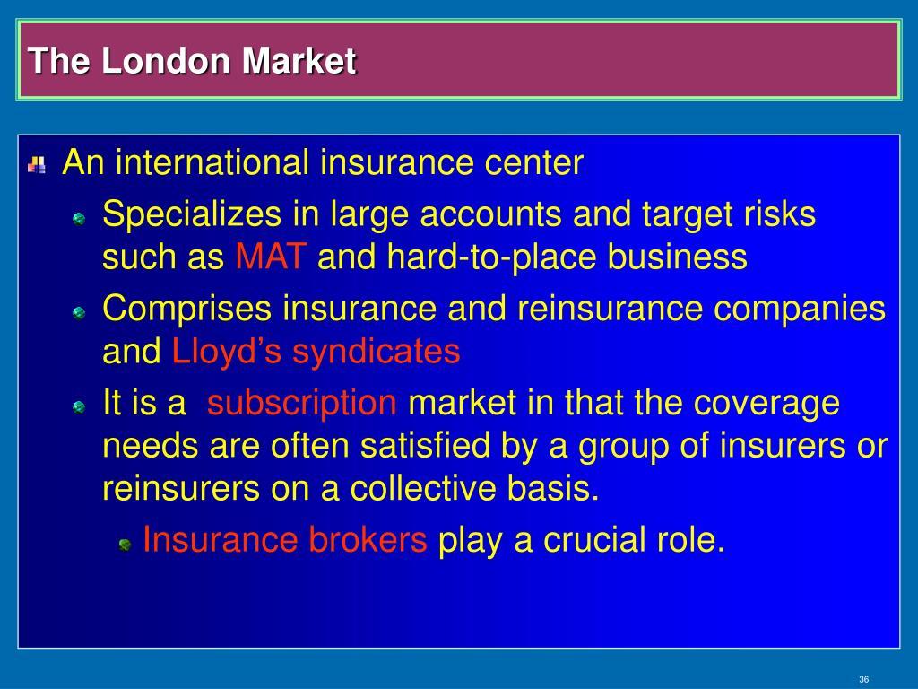 The London Market