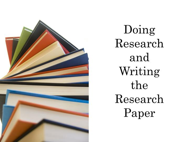 Help writing a research paper from thesis writing ppt