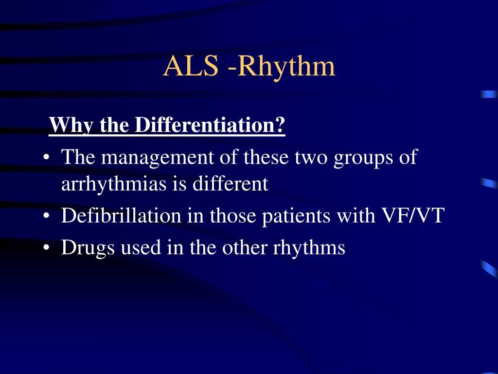 ALS -Rhythm