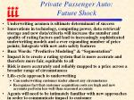 private passenger auto future shock