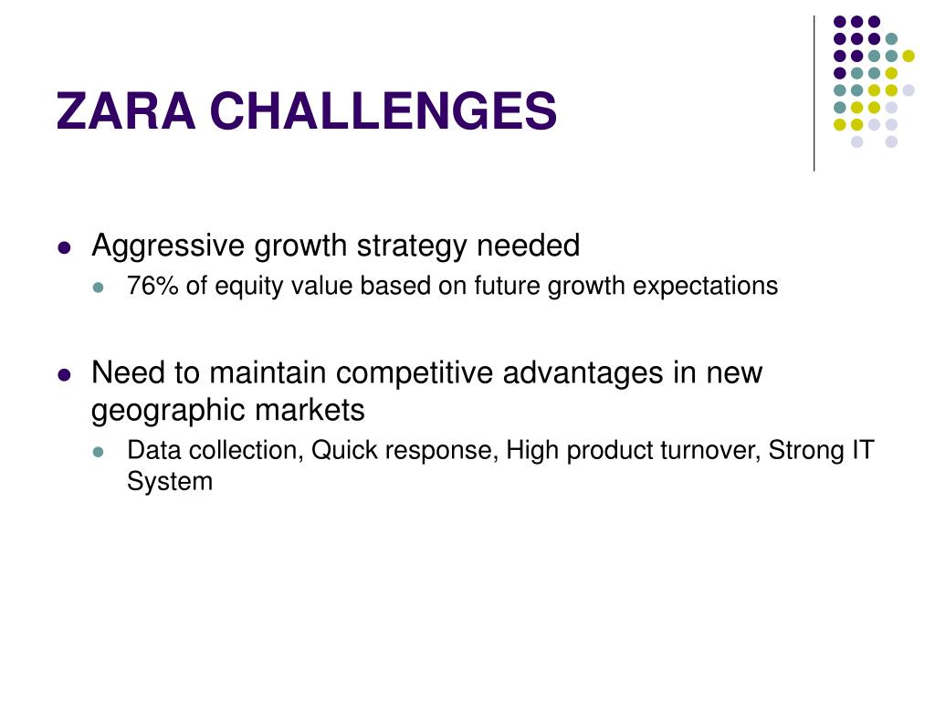 zara case essay Zara's responsive strategies improve the efficiency of information exchange in every level of supply chain customers, store managers, designers and market.