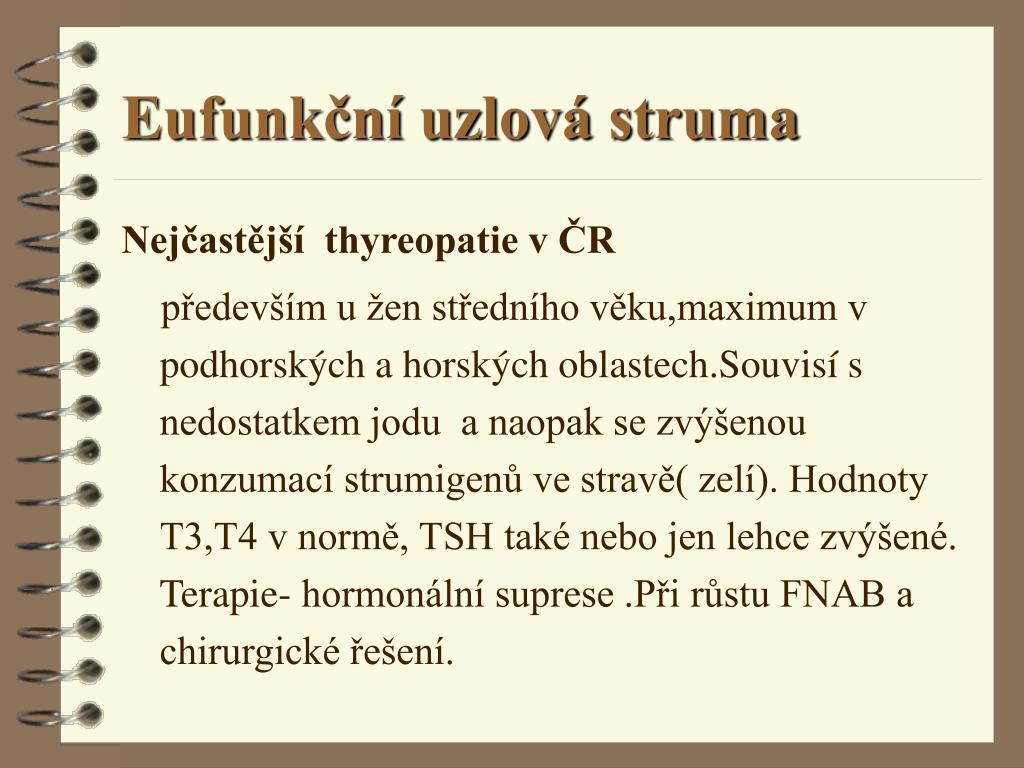 Eufunkční uzlová struma