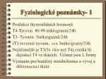 fyziologick pozn mky 1