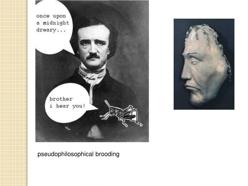 pseudophilosophical brooding
