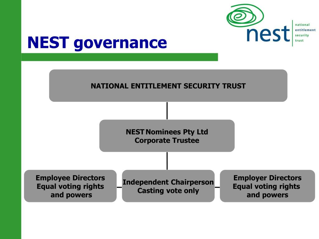 NEST governance