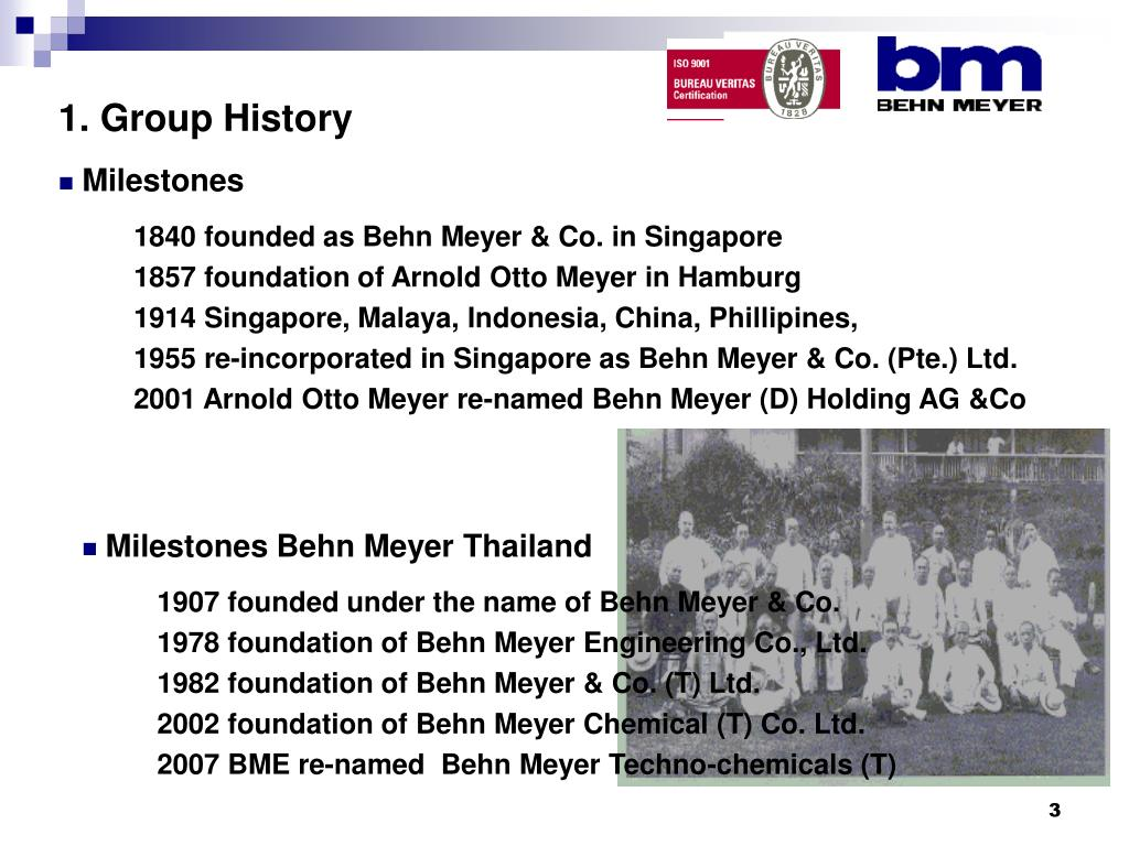 1. Group History