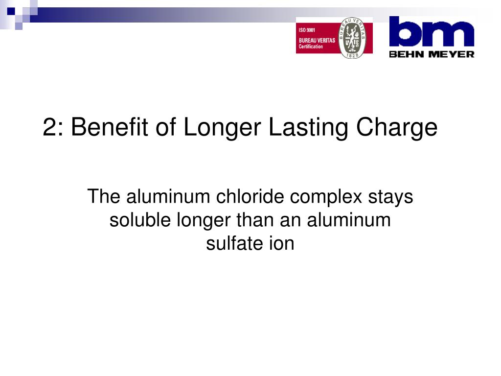 2: Benefit of Longer Lasting Charge