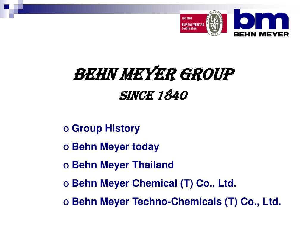 Behn Meyer Group