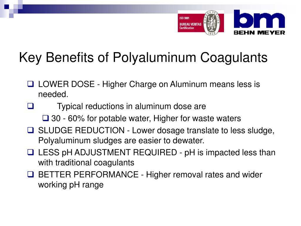 Key Benefits of Polyaluminum Coagulants