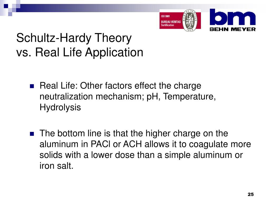 Schultz-Hardy Theory