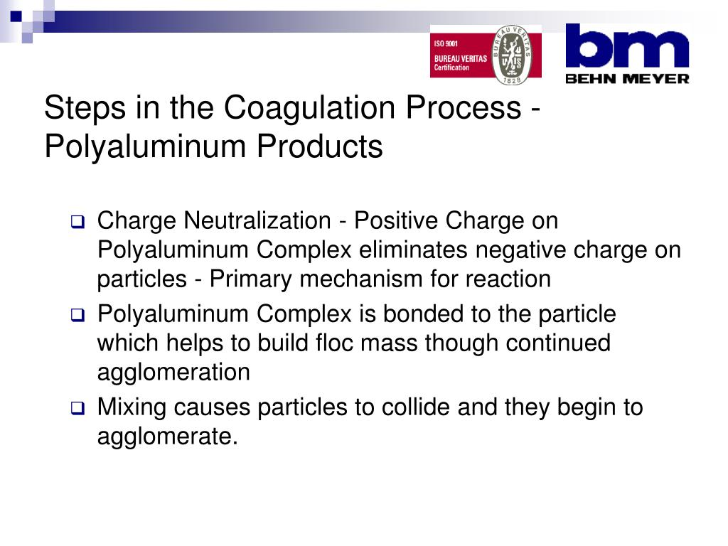 Steps in the Coagulation Process - Polyaluminum Products