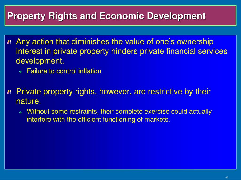 Property Rights and Economic Development