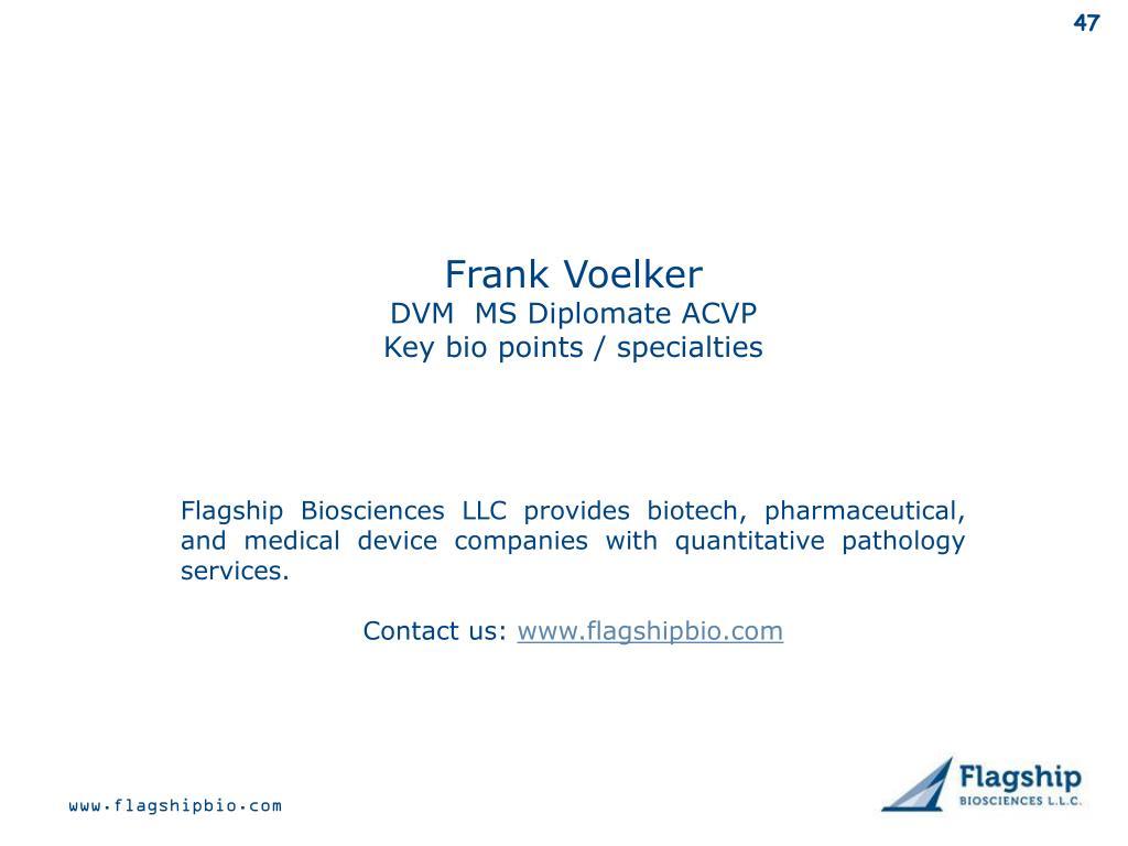 Frank Voelker