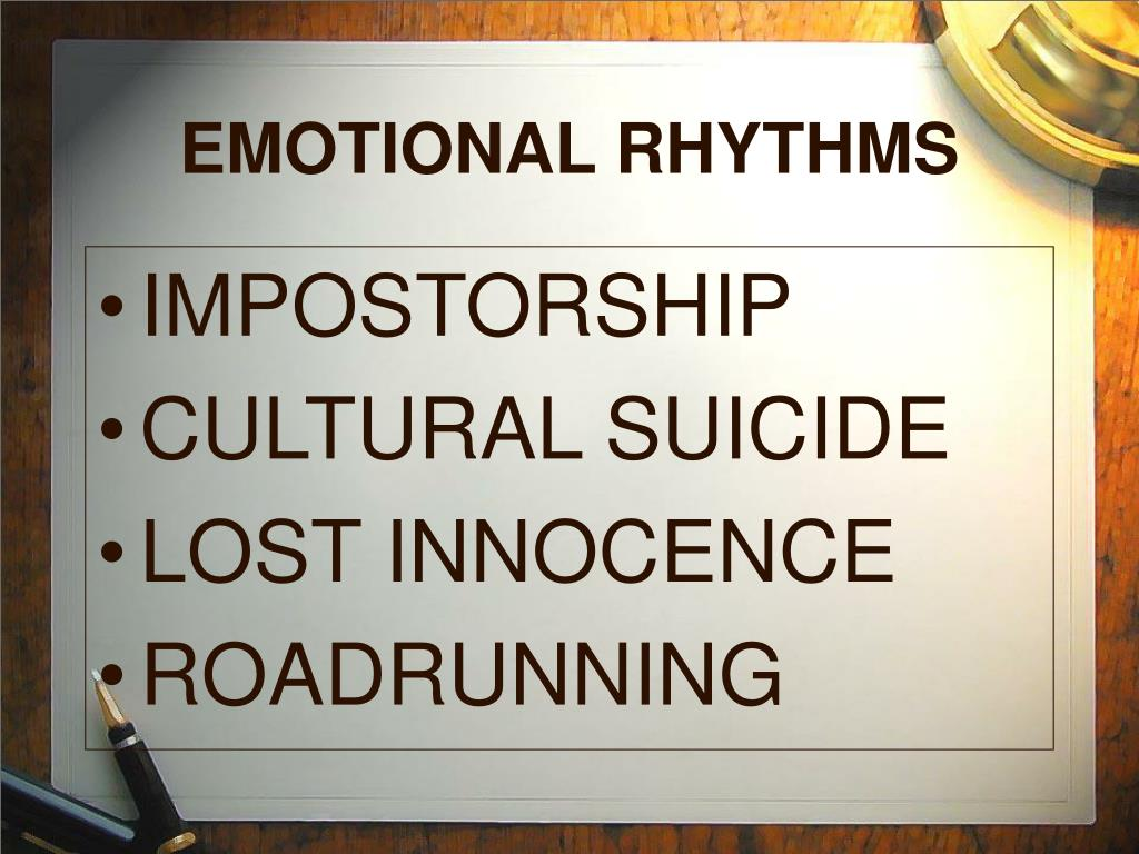 EMOTIONAL RHYTHMS