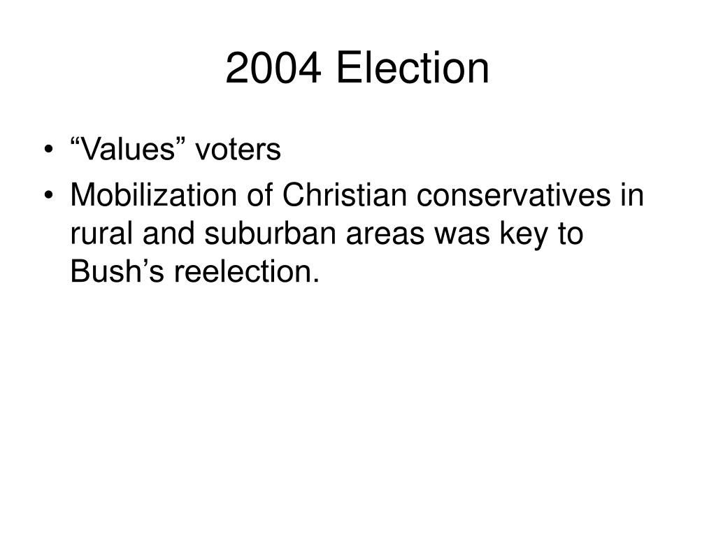 2004 Election