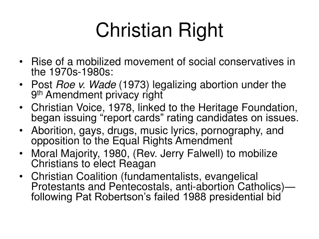 Christian Right