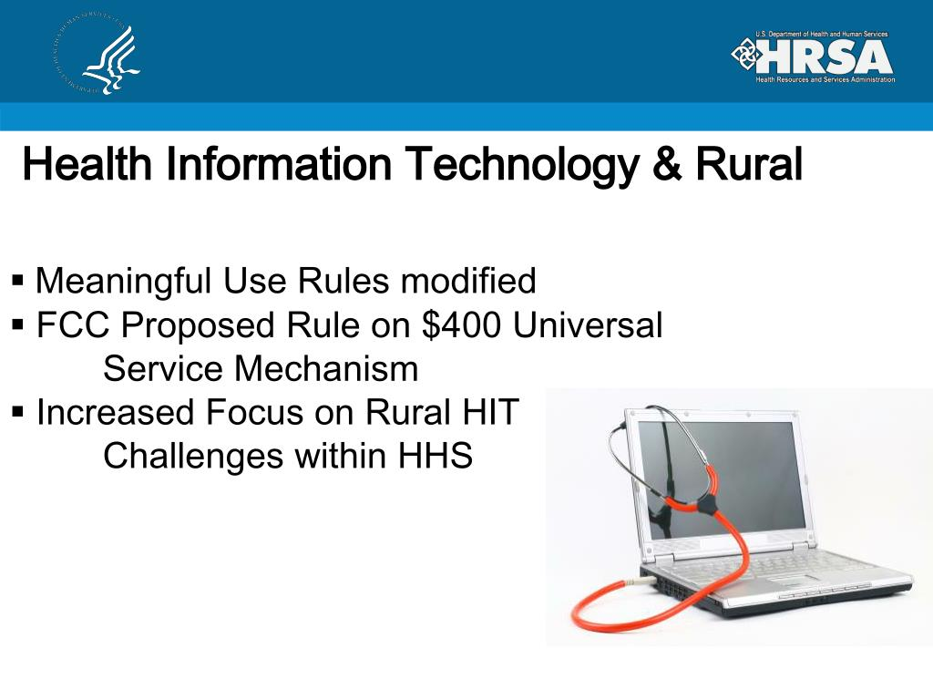 Health Information Technology & Rural