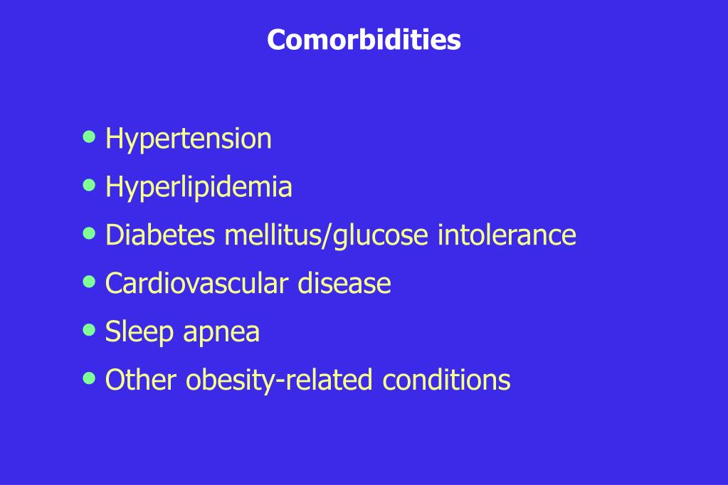 Comorbidities