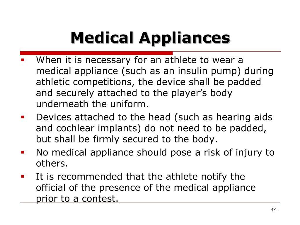 Medical Appliances