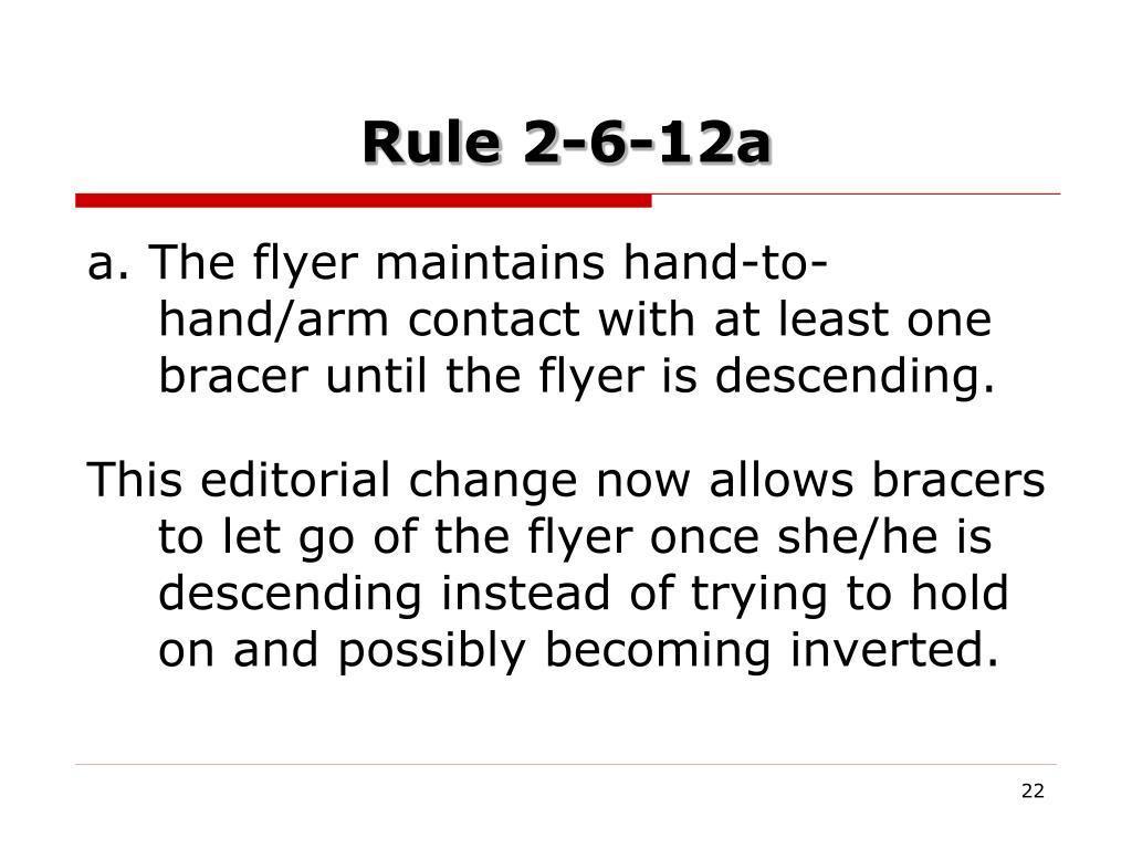 Rule 2-6-12a