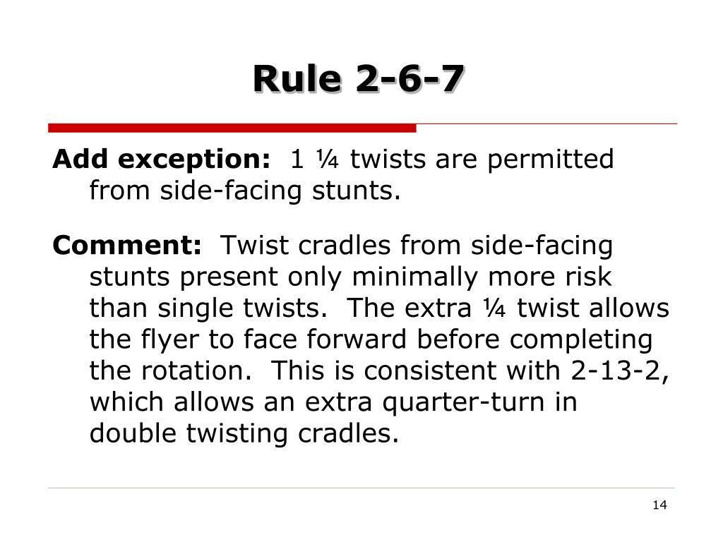 Rule 2-6-7
