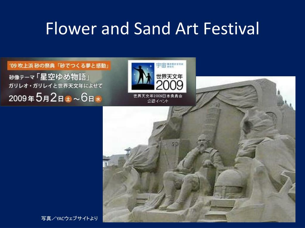 Flower and Sand Art Festival