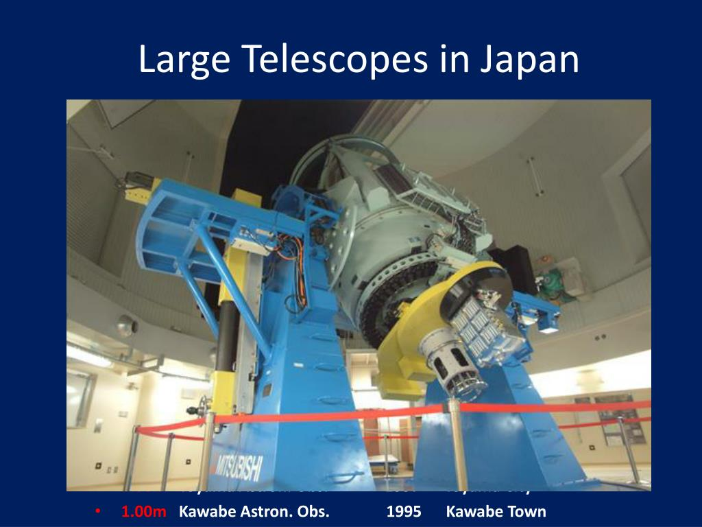 Large Telescopes in Japan