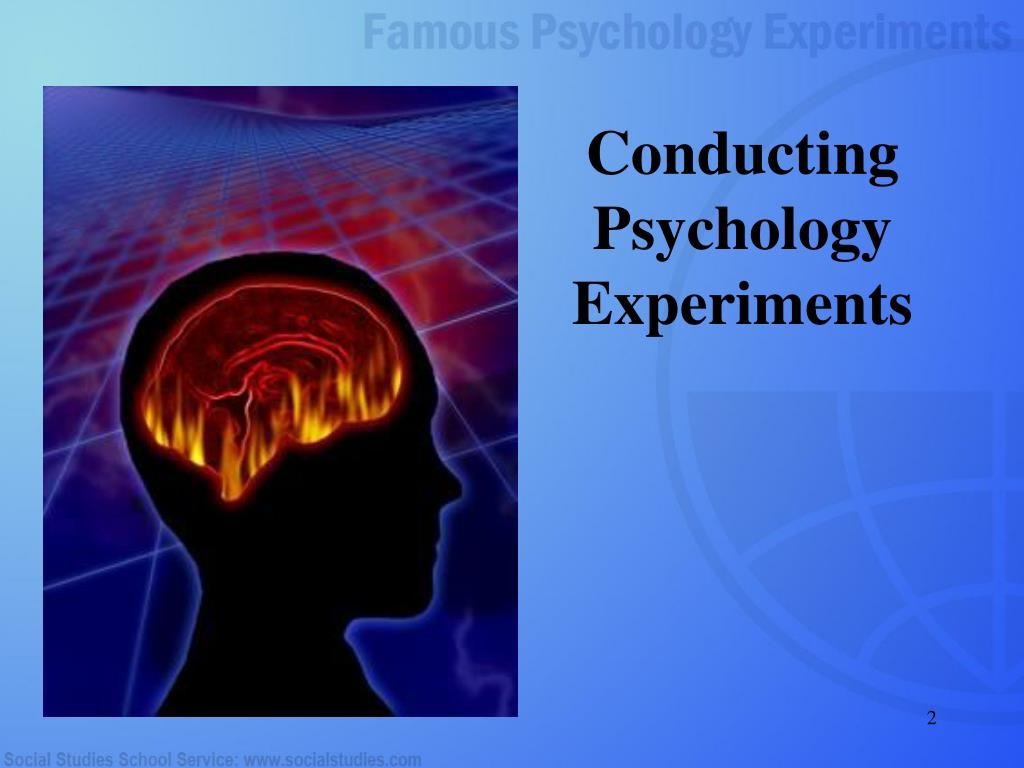 conducting a psychology experiment The experiment, revealed by a scientific paper published in the march issue of proceedings of national academy of sciences, hid a small percentage of emotional words from peoples' news feeds.