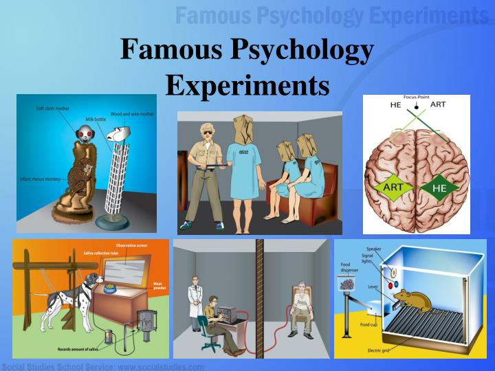 Famous psychology experiments l.jpg