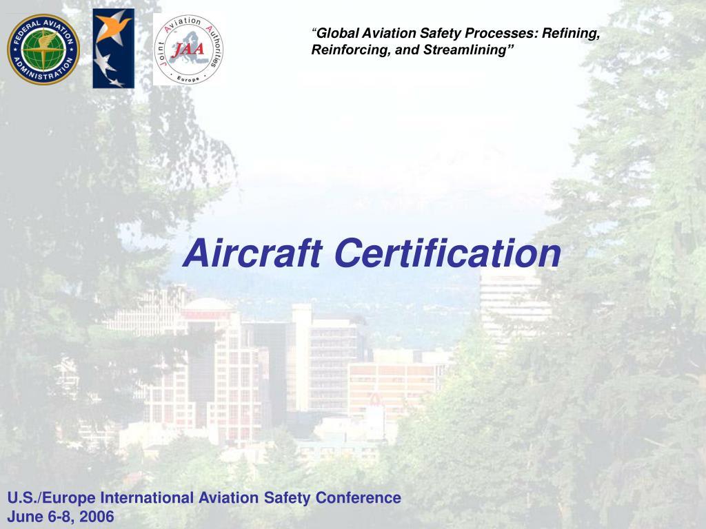 Aircraft Certification