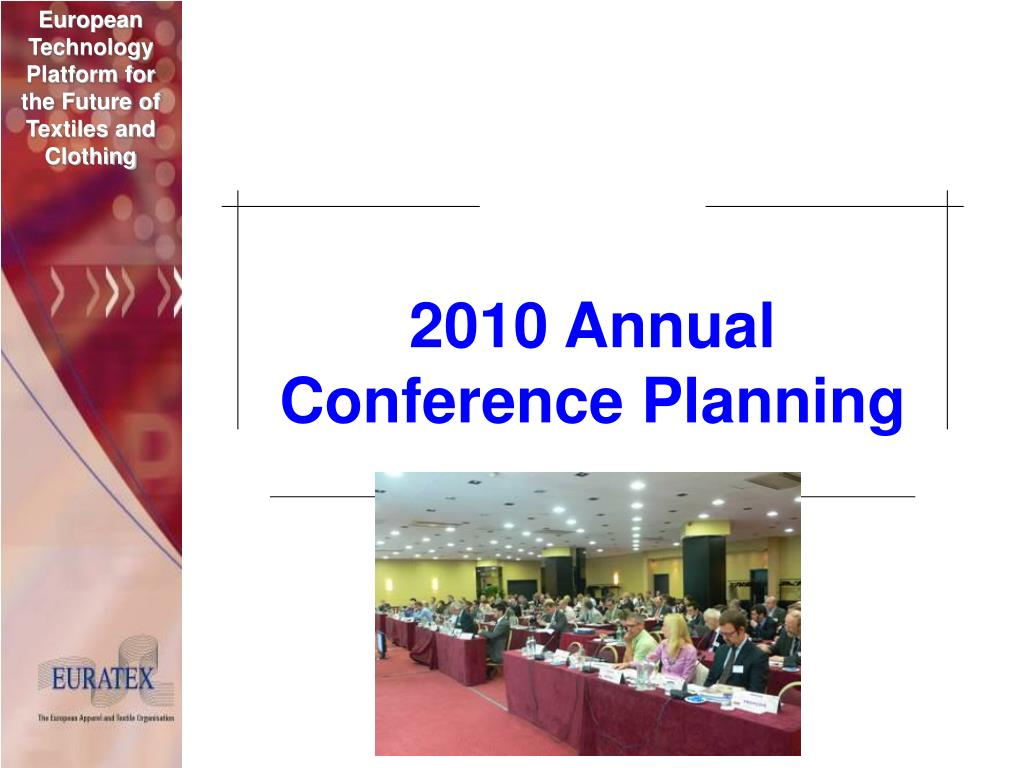 2010 Annual Conference Planning